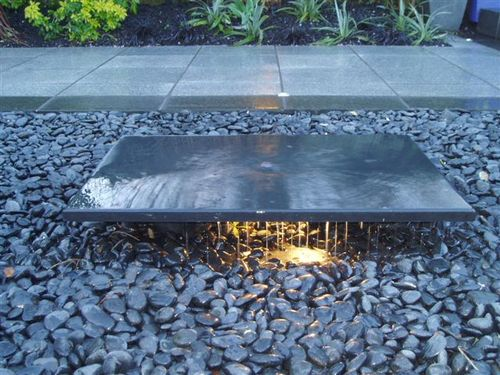 Easy Outdoor Water Features : Modern gardens Chelmsford  Simple water feature