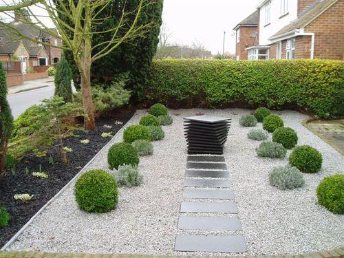Japanese Inspired Front Garden   Chelmsford.